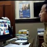 Work From Home, Wali Kota Malang Pimpin Rapat Koordinasi Covid-19 lewat Teleconference