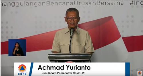 Jubir Pemerintah untuk Covid-19 dr Achmad Yurianto. (Foto: Kementerian Kesehatan)