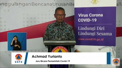 Achmad Yurianto, Juru bicara Presiden terkait persebaran virus Corona atau Covid-19 di Indonesia. (Foto: BNPB))