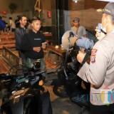 Antisipasi Coronavirus, Polres Kediri Giat Patroli Cafe dan Tempat Nongkrong