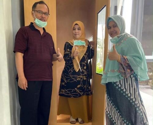 Bilik Kabut Anti Virus (KAVI) ciptaan UIN Malang. (Foto: istimewa)