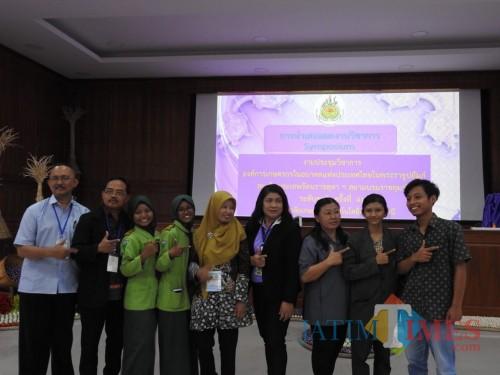Cerita Mahasiswa Unisba Blitar Ikuti Keseruan Festival Pertanian Terbesar di Thailand