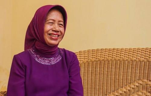 Ibunda Presiden Joko Widodo, Sudjiatmi Notomiharjo. (Foto: Istimewa)