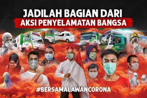 Ilustrasi perlawanan terhadap wabah pandemi virus Corona atau Covid-19 yang telah melanda dunia, khususnya Indonesia. (Foto: indonesiadermawan.id)