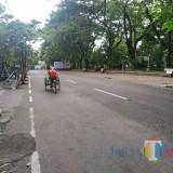 Masuk Urutan Kedua Kasus Corona Terbanyak di Jawa Timur, Jalanan Di Tulungagung Mulai Lengang