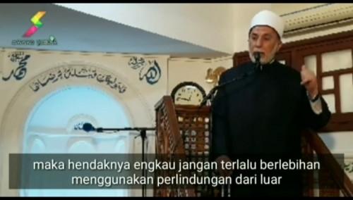 Ulama Al-Azhar Mesir Prof. Dr. dr. Yusri Rusydi Sayyid Jabr al-Hasani