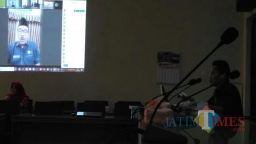 Kali pertama rapat paripurna anggota dewan gunakan sistem video conferencing