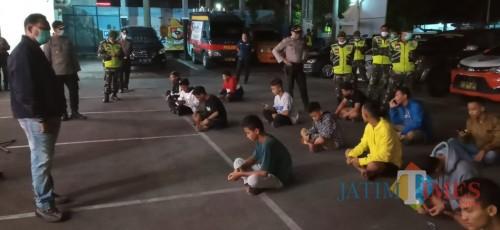 Nongkrong di Warkop, Polisi Tulungagung Amankan 18 Orang