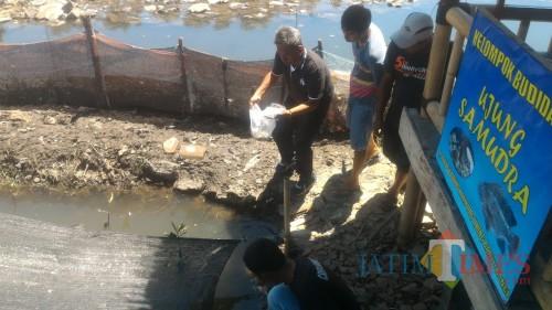 Tokoh Masyarakat Ini Ajak Masyarakat Budidaya Ikan dan jaga Kebersihan Sungai Kalilo