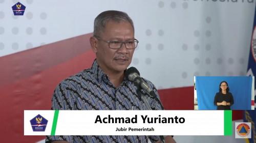 Achmad Yurianto, Juru Bicara Pemerintah terkait persebaran Covid-19 di Indonesia, Sabtu (28/3/2020). (Foto: BNPB)