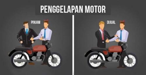 Hati-Hati Jual Motor, Jangan Sembarangan Pilih Pembeli, Bisa-Bisa Apes Seperti Warga Ini