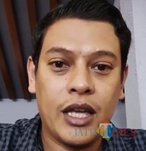 Wali Kota Kediri Abdullah Abu Bakar saat memberikan rilis pers melalui video. (ist)