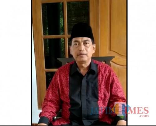 KH Khafid Azzazuddin Pimpinan Cabang (PC) NU Kota Madiun/madiuntimes.