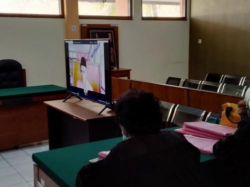 Akibat Wabah Corona, Sidang di PN Kota Malang Dilakukan Secara Online