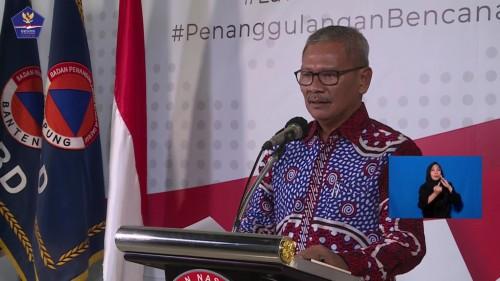 Achmad Yurianto, juru bicara pemerintah terkait persebaran covid-19 di Indonesia, Selasa (31/3/2020). (Foto: BNPB)