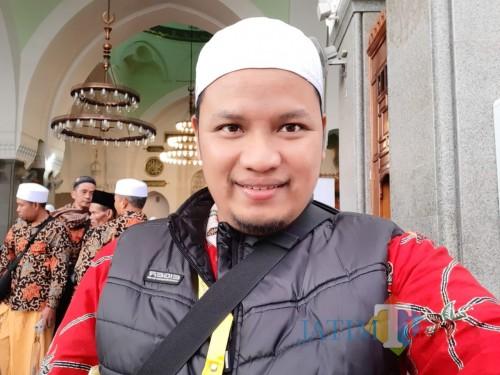 Agung Hartadi, pasien positif corona saat umroh beberapa waktu lalu / foto : Koleksi Pribadi / Tulungagung TIMES