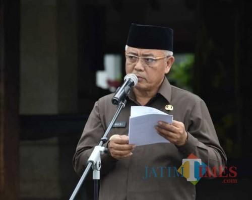Kiat Pemkab Malang Lawan Panic Buying Ulah Corona: Dari Operasi Pasar dan Pembatasan Belanja