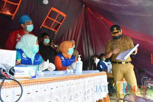 Bupati Trenggalek Pantau Kesiapan Checkpoint Pencegahan Virus Corona