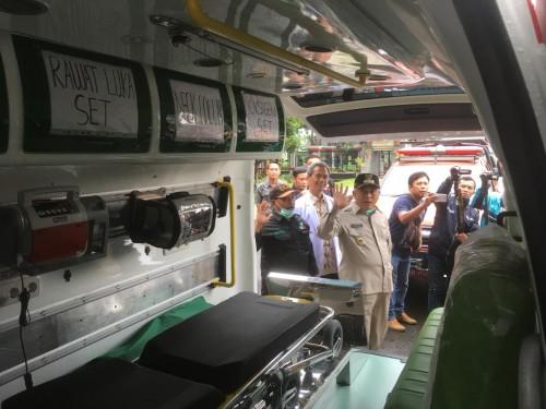 Bupati Malang HM Sanusi saat mengkritik membeludaknya masyarakat yang pergi ke Rumah Sakit hanya untuk minta surat keterangan bebas Covid-19 (Foto : Ashaq Lupito / MalangTIMES)