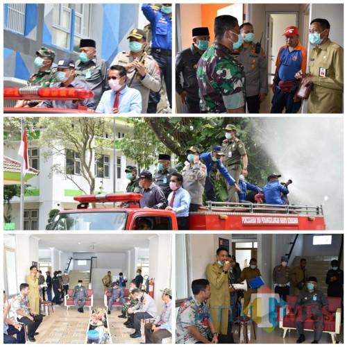 Kondisi Darurat, DPKPCK Kabupaten Malang Genjot Persiapan Rusunawa ASN untuk Ruang Isolasi Pasien Corona