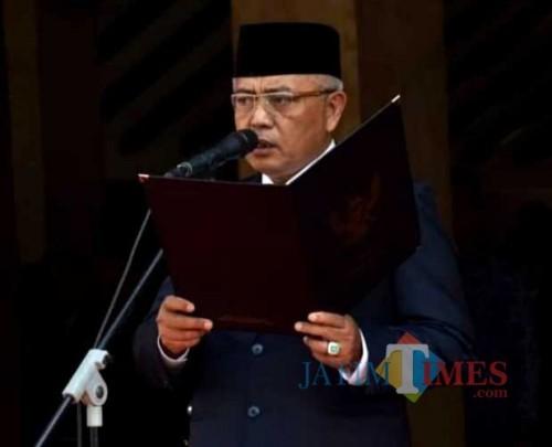 Bupati Malang Sanusi kembali keluarkan SE terkait perpanjangan kerjadi rumah bagi ASN di Pemkab Malang ( dok MalangTimes)