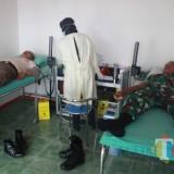 Bantu PMI Atasi Kekurangan Darah, Kodim 0808/Blitar Gelar Baksos Donor Darah