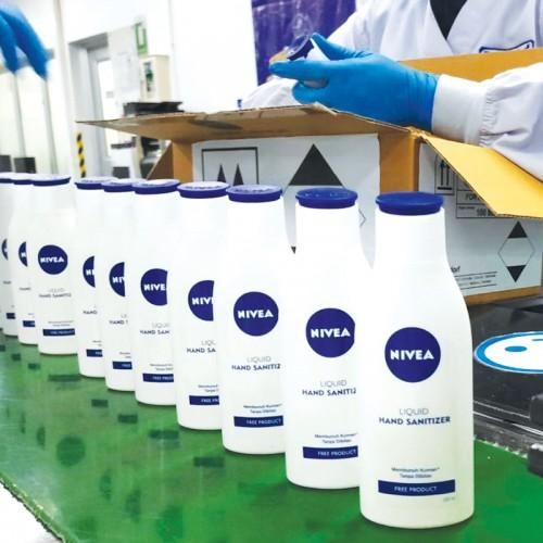 Brand Perawatan Kulit 'Nivea' Produksi Hand Sanitizer Khusus untuk Petugas Medis