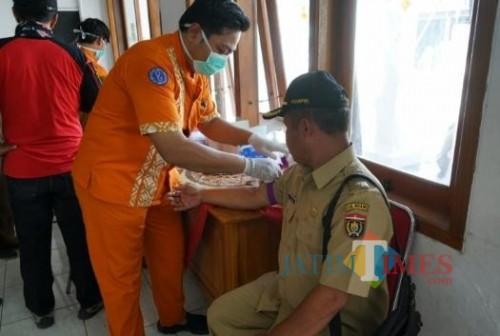 Pencegahan COVID-19, Pemkab Ngawi Lakukan Tes Kesehatan Camat dan Kades se-Kabupaten
