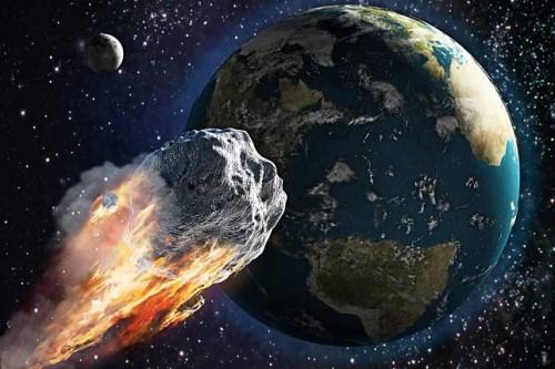 Ilustrasi asteroid. (Foto: istimewa)