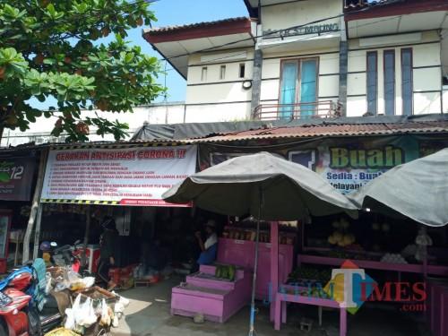 Potret Pasar Sembung Kabupaten Ngawi Akibat Dampak Covid-19