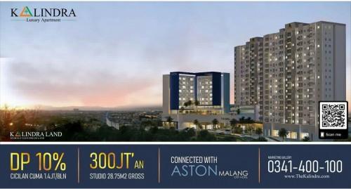 Berlokasi Dekat Tol, Apartemen The Kalindra Malang Potensial untuk Investasi