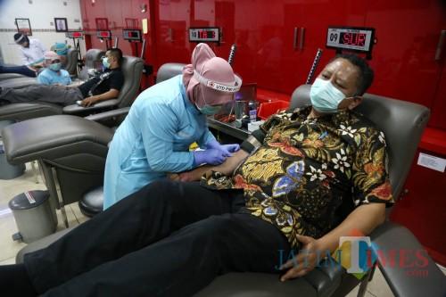 Stok Darah Berkurang, PMI Surabaya Jemput Bola Penuhi Kebutuhan Masyarakat