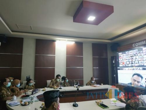 Antisipasi Dampak Covid-19 terhadap Inflasi, TPID Kabupaten Blitar Gelar Rakor