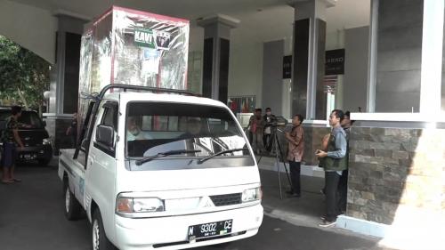 UIN Malang Bagikan Bilik Kabut Anti Virus ke Masjid dan Pondok Sekitar Kampus