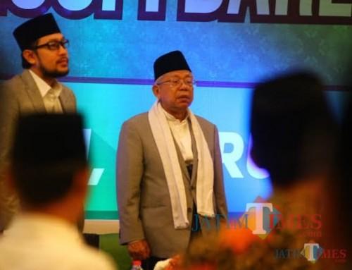 Wapres RI Ma'ruf Amien akan minta ke MUI terkait fatwa haram mudik. (dok MalangTimes)