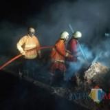 Diduga karena Korsleting Listrik, Gudang Dupa di Kabupaten Malang Ludes Terbakar