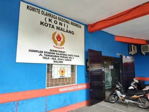 Kantor KONI Kota Malang (Hendra Saputra)