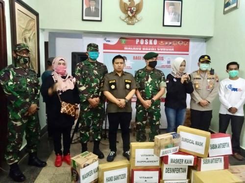 Aksi Hipakad Kota Malang dan IMF putus rantai persebaran covid-19 (Istimewa).
