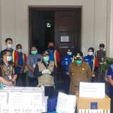 Terima Bantuan APD hingga Hand Sanitizer, Wali Kota Malang Ajak Warganya Bahu-membahu Tangani Covid-19