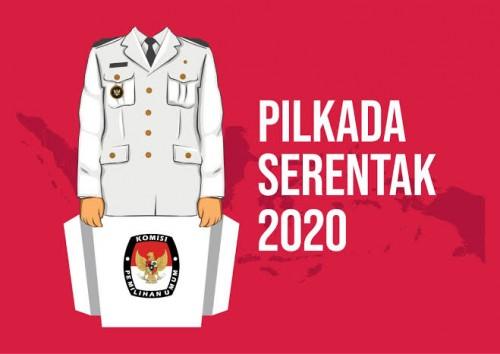 Ilustrasi Pilkada serentak 2020 yang diminta perpu-nya bisa diselesaikan akhir April untuk kepastian. (Ist)