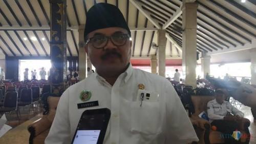 Kepala Bapenda Kabupaten Malang Purnadi memprediksi adanya penurunan pendapatan PAD akibat covid-19 hingga 50 persen di tahun 2020 (dok MalangTimes)