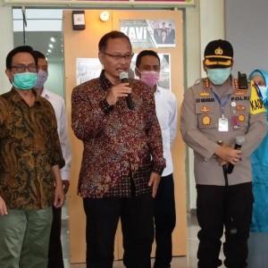 Bantu Polresta Malang Kota Tangani Covid-19, UIN Malang Hibahkan Bilik KAVI