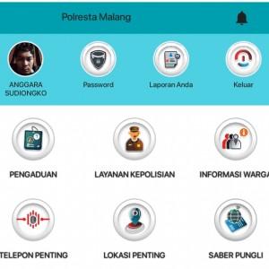 Butuh Bantuan Polisi, Download Saja Aplikasi Ini, Ada Infromasi DPO Juga di Dalamnya