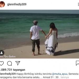Empat Hari sebelum Meninggal, Glenn Fredly Posting Hal Romantis untuk Sang Istri