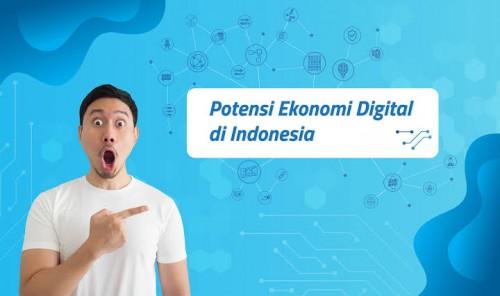 Ilustrasi ekonomi digital (Jaringan Prima)