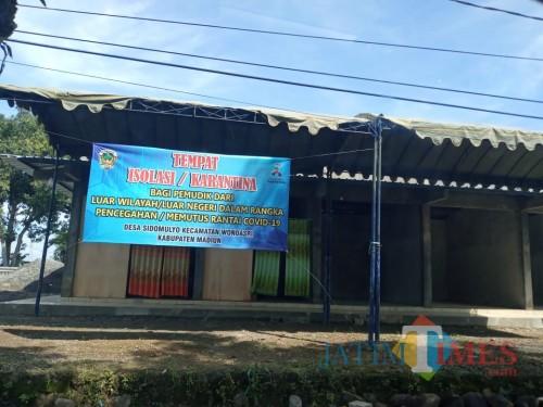Sambut Pemudik, Bupati Madiun Siapkan Bangunan Pasar untuk Isolasi Mandiri