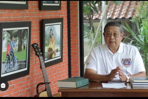 Mantan Presiden RI ke-6 Susilo Bambang Yudhoyono. (Video capture instagram @aniyudhoyono).