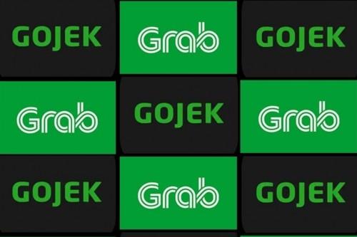 Gojek dan Grab (Foto: blogspot)