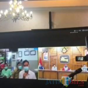 Suka Duka Pahlawan Covid-19 di RSUD Soedono, Gubernur Jatim : Kalian Luar Biasa
