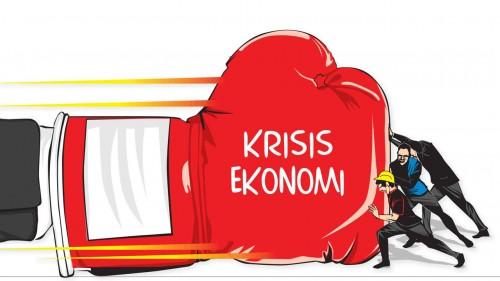 Ilustrasi krisis ekonomi. (Foto: istimewa)